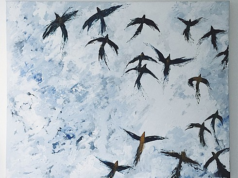 Inspiration: Bird Paintings